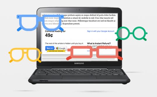 Google testet Zahlungsdienst für Contentanbieter