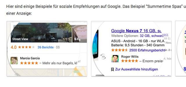 Google will User für Werbung benutzen