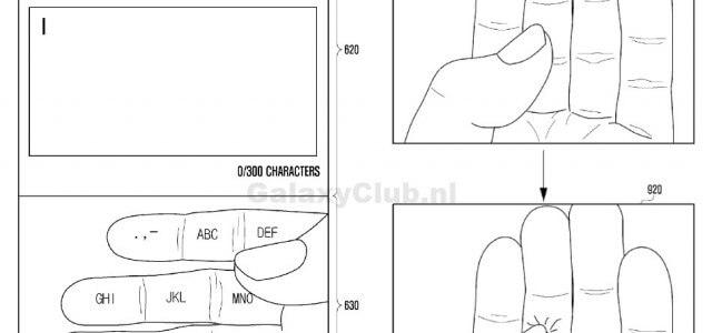 Samsung-Patent: Hand als Tastatur-Ersatz
