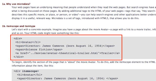 HTML Tags sorgen wie auch schema.org für mehr und bessere Strukturen