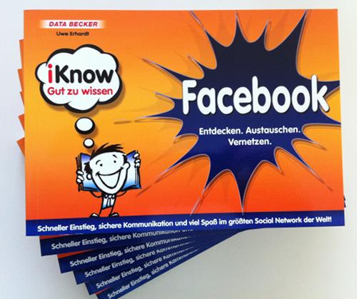 """Verlosung: Insgesamt 6 Bücher """"iKnow Facebook"""" zu gewinnen"""