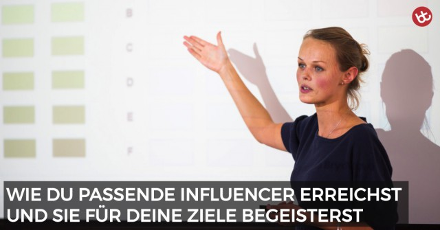 Influencer Marketing: Die praktische 5-Punkte-Checkliste
