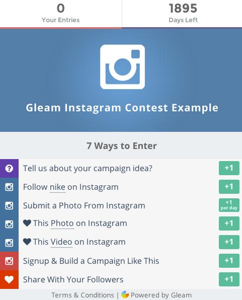 Es gibt diverse Möglichkeiten, wie die Teilnahme an einem Instagram Contest gestaltet werden kann