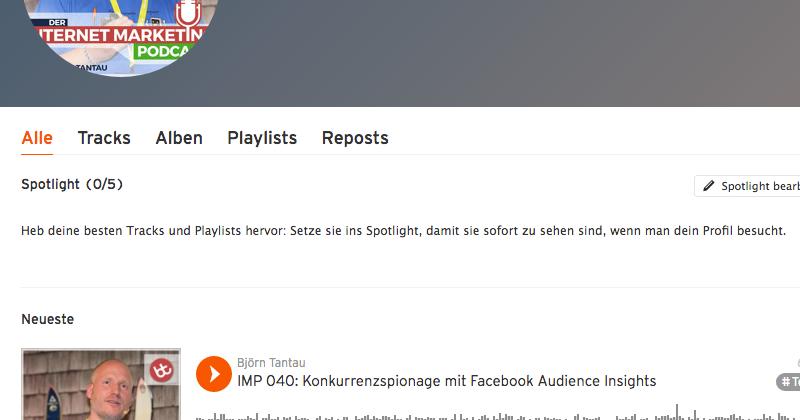 Mein Internet Marketing Podcast erfreut sich großer Beliebtheit