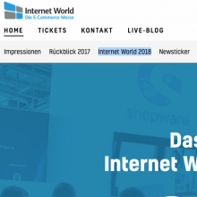 Internet World Messe München 2018