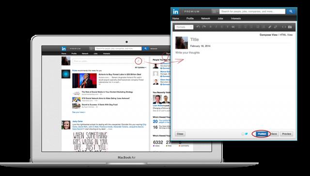 Bloggen auf LinkedIn jetzt für alle Mitglieder