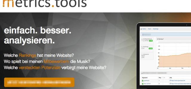 Metrics Tools: Wie du die Performance deiner Website im Blick behältst