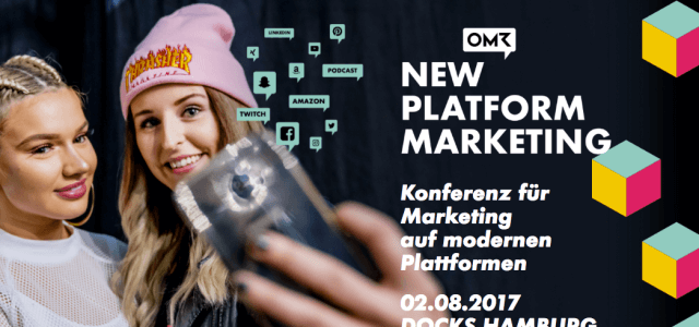 Ticketverlosung zur New Platform Marketing am 2.8.2017