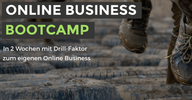 Save The Date: Das Online Business Bootcamp macht dich fit
