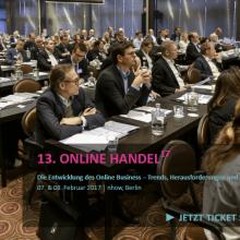 Online Handel Berlin 2017