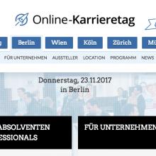 Online Karrieretag Berlin 2017