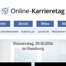Online Karrieretag Hamburg 2016