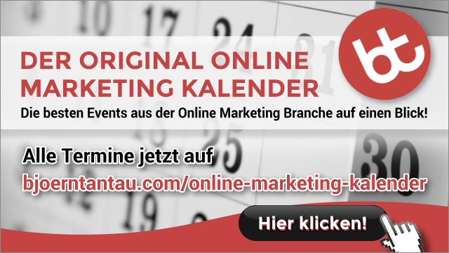 Online Marketing Kalender