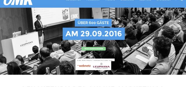 Save the Date: 5. Online Marketing Konferenz OMK Lüneburg am 29.9.2016