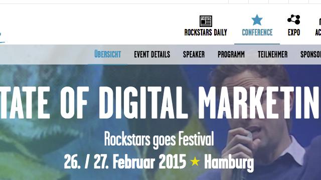 Online Marketing Rockstars 2015: Wenn du hier nicht bist, dann verpasst du was