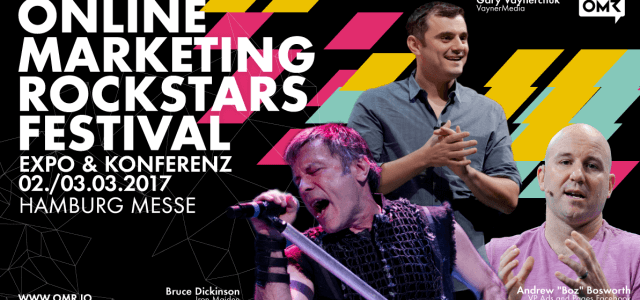 Verlosung von 8 Tickets: Komm zum Online Marketing Rockstars Festival!