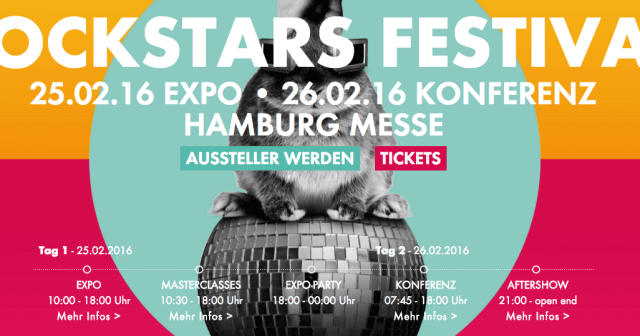 Online Marketing Rockstars Festival 2016: Gewinne Tickets für die Expo!