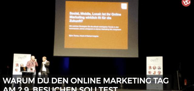 Warum du zum Online Marketing Tag nach Wiesbaden kommen musst