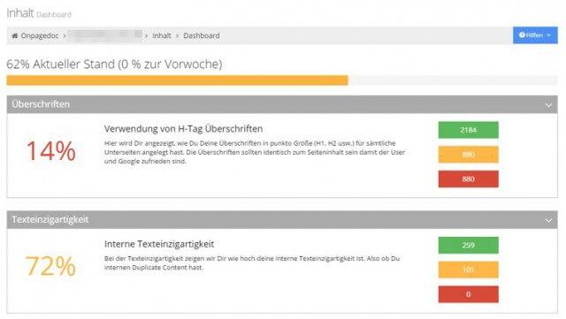 onpagedoc-ueberschriften-texteinzigartigkeit
