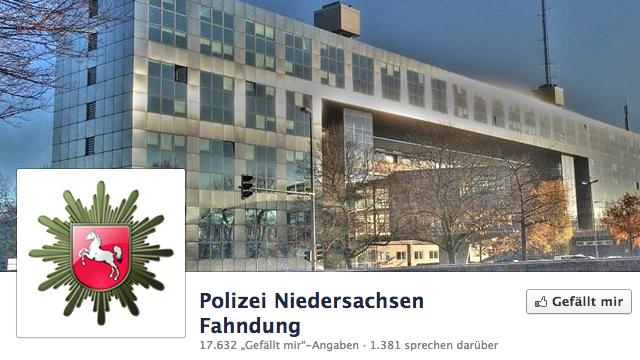 Mit Facebook auf Verbrecherjagd: Polizei entdeckt soziale Netzwerke