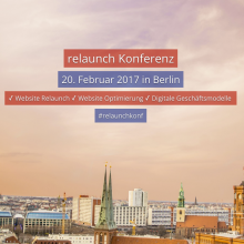Relaunch Konferenz Berlin 2016