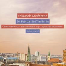 Relaunch Konferenz Berlin 2016