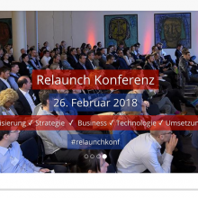 Relaunch Konferenz Berlin 2018