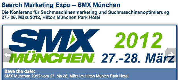 Verlosung: 2-Tages-Ticket für die SMX München, Wert 1095 Euro