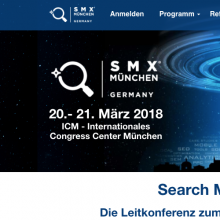 SMX Search Marketing Expo München 2018