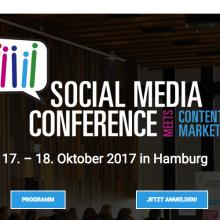Social Media Conference Hamburg 2017
