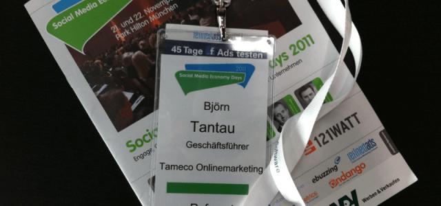 Social Media Economy Days 2011 Recap