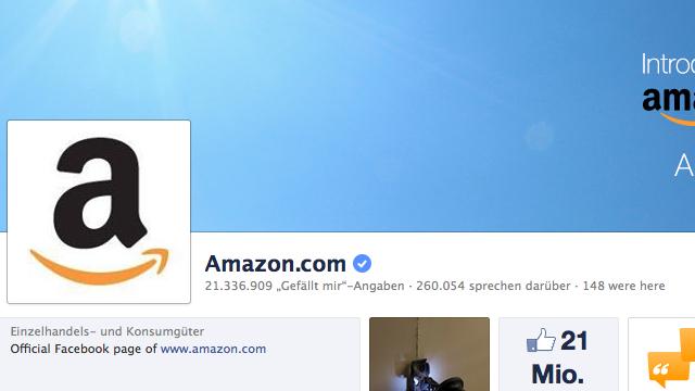 Social Shopping mit Amazon und Facebook noch vor Weihnachten?