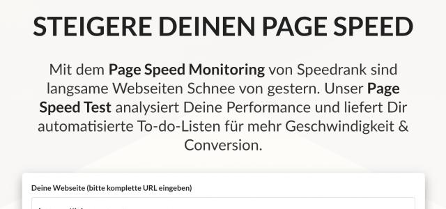 Speedrank im Test: So löst du alle Geschwindigkeitsbremsen auf deiner Website