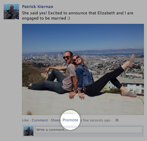 Test: Facebook Promoted Posts für Profile