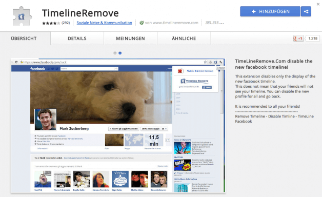 Facebook Timeline deaktiveren: So gehts!