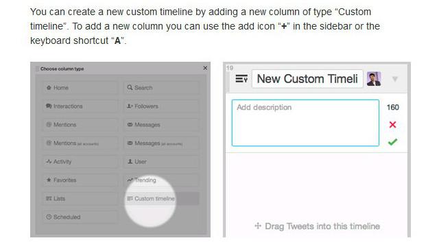 Twitter führt Custom Timelines für TweetDeck ein