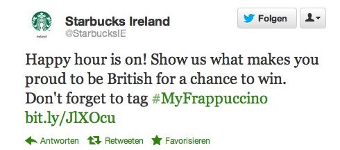 Twitter Starbucks Shitstorm