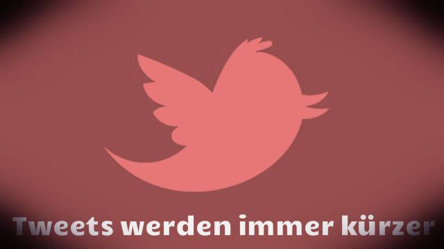 Das Geheimnis der immer kürzer werdenden Tweets