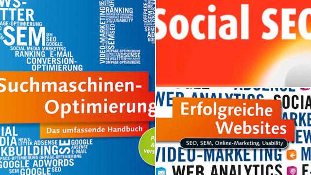 Verlosung: 3 Online Marketing Bücher zu gewinnen
