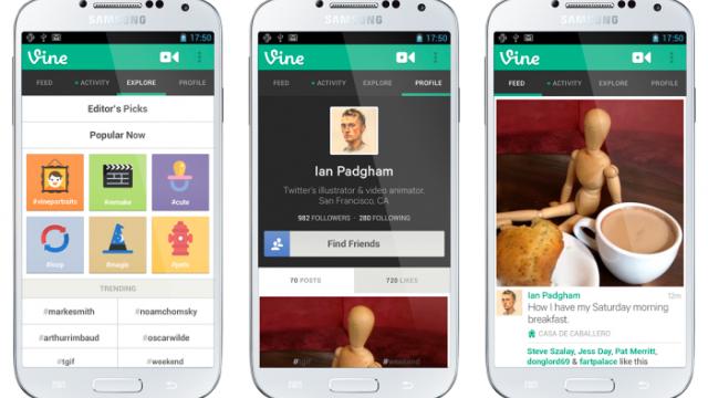 Twitter veröffentlicht Vine Android App