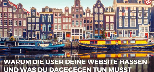 IMP 037: Warum die User deine Website hassen
