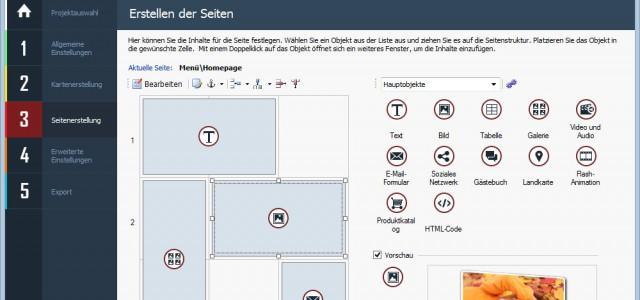 Mit WebSite X5 in nur 5 Schritten zur fertigen Website: Geht das wirklich?