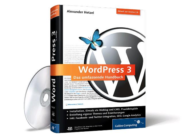 """Newsletter abonnieren und """"WordPress 3: Das umfassende Handbuch"""" gewinnen"""