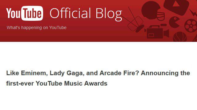 YouTube Music Awards: Angriff auf MTV?