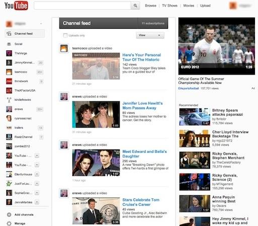YouTube Redesign? Google+ lässt grüßen!