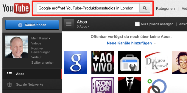 Google eröffnet YouTube-Produktionsstudios in London